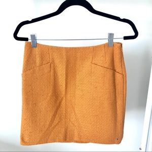 NWOT Outback Red (The Limited) Mustard Skirt